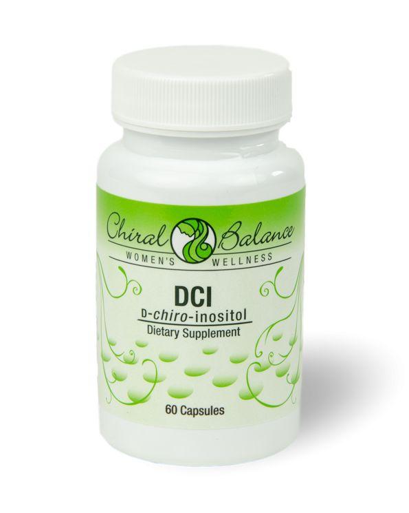 DCI  D-Chiro-Inositol (DCI) is een vitamine-achtige stof uit de vitamine B-groep. Het lichaam kan deze stof (normaal gesproken) zelf aanmaken.  DCI (D-Chiro-Inositol) speelt een belangrijke rol bij de suikerstofwisseling. Het is een signaalstof die nodig is voor een goede insulinehuishouding. Het zorgt er namelijk voor dat je lichaam de aanwezigheid van insuline goed herkent.