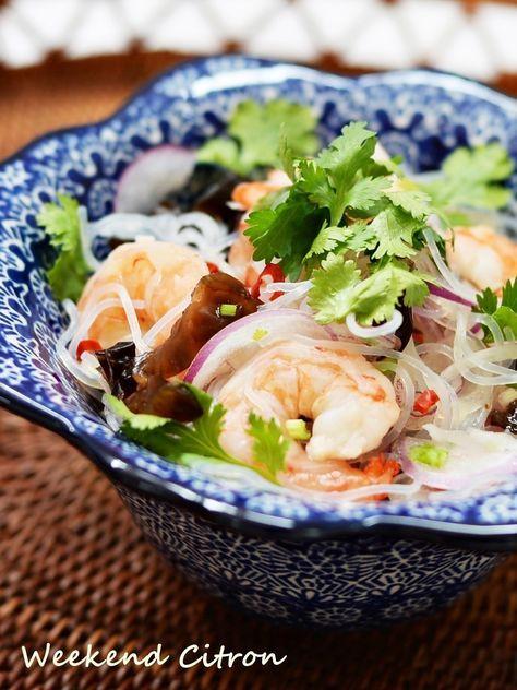 ヤムウンセン~タイ風春雨サラダ~ by 北島真澄 / 酸っぱ辛い春雨サラダはやみつきになる美味しさ。作り置きもできるサラダは、パーティーの持ち寄りにも喜ばれます。 / Nadia