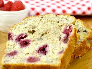 Gluten Free Banana and Raspberry Bread