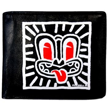 Dick Frizzel Red Haring Wallet - Silverfernz.com
