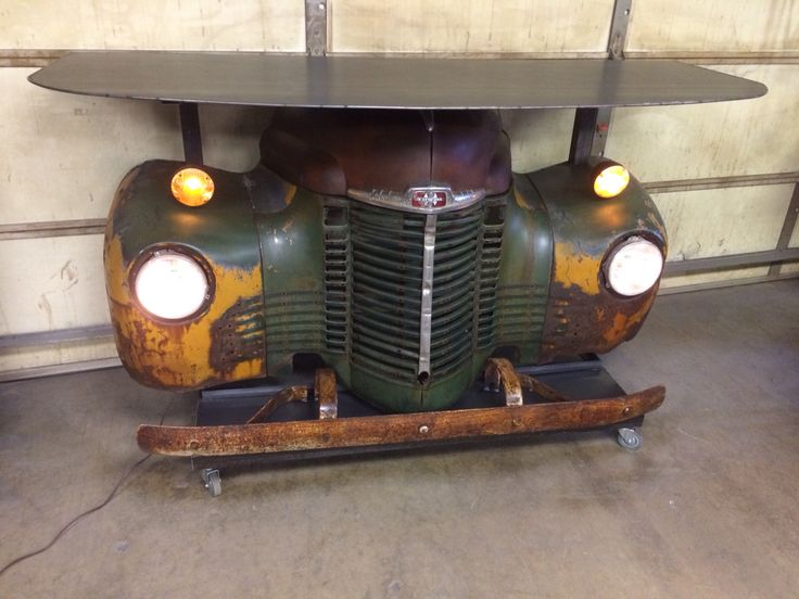 1947 international bar. All steel. Working lights by relics awry  Automotive  FurnitureCar ...