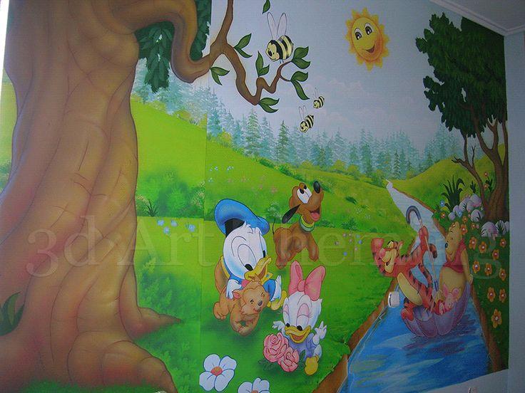 ζωγραφική τοίχου για παιδικά δωμάτια