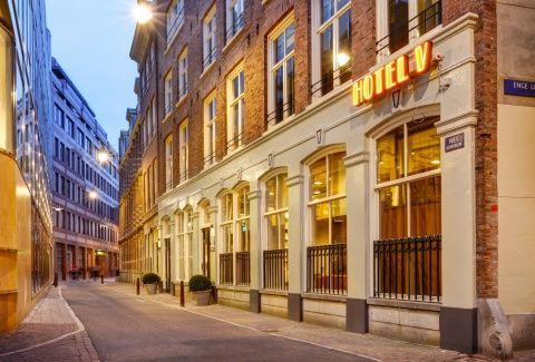 Hotel V Nesplein ****, Amsterdam – OFFICIËLE SITE – Boetiek Hotel