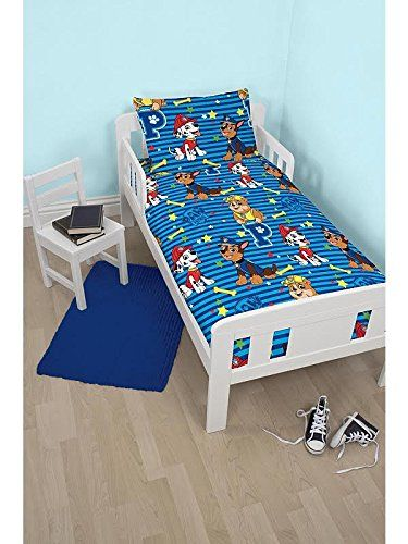From 15.95 Insane Sale - Paw Patrol Hero Junior Reversible Bed Duvet Set Fits Toddler  Junior & Cot Bed - New Design Limited Offer