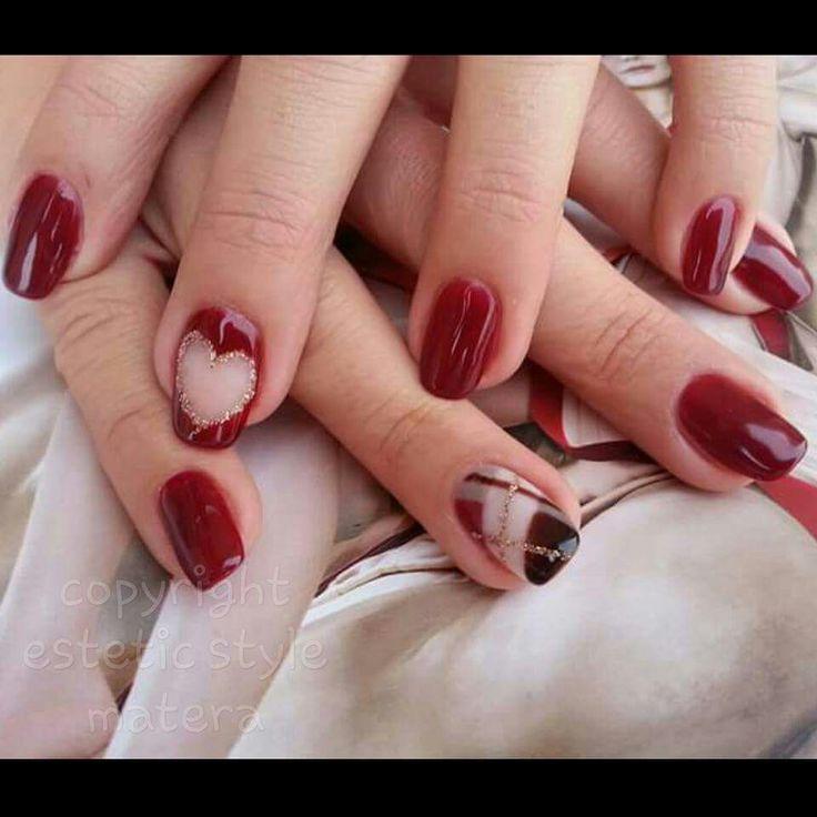 #bordeaux#lana#cuore#bianco#dorato#matera