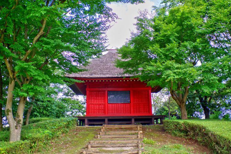 観音堂(逆井城跡公園)