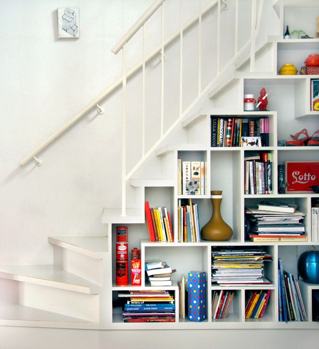 Surprising Staircase Ideas In Small Spaces Engaging: 17 Best Ideas About Shelves Under Stairs On Pinterest