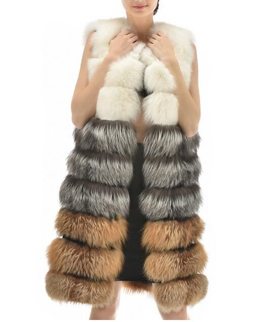 fox fur vest .$470 for retail ,if wholesale,please contact me