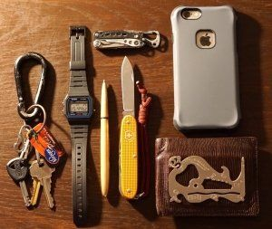 Everyday Carry - Lexington, Kentucky/Student and Wildland Firefighter - The College Dump