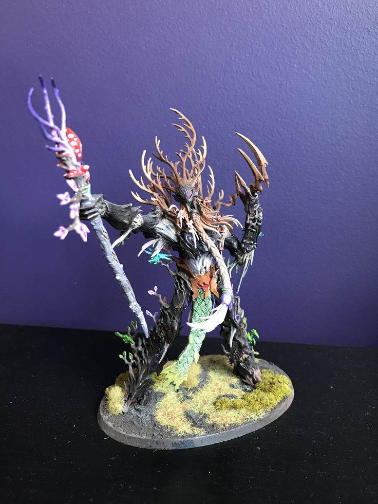 Treelord ancient Sylvaneth warhammer age of Sigmar