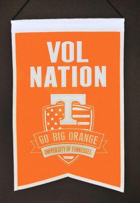 Tennessee Volunteers Wool Nations Banner Z157-7408830020