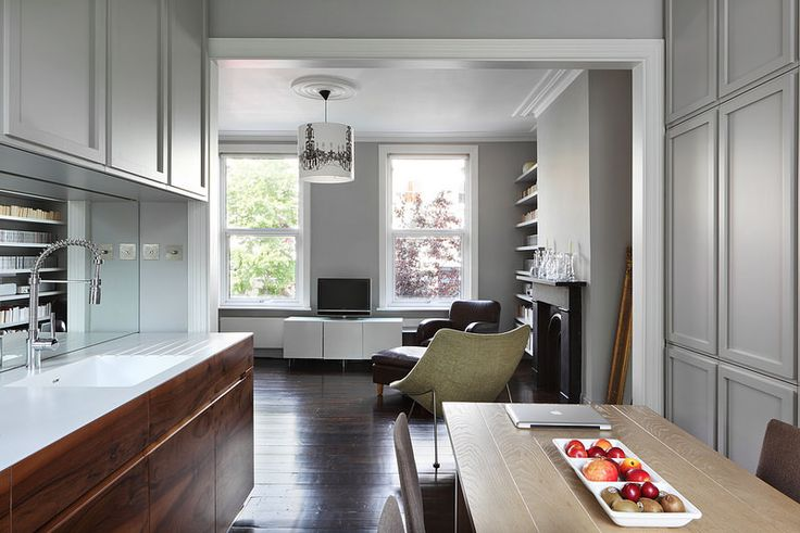 Hammersmith Grove by MWAI Architecture & Interiors #kitchendesign #interiors