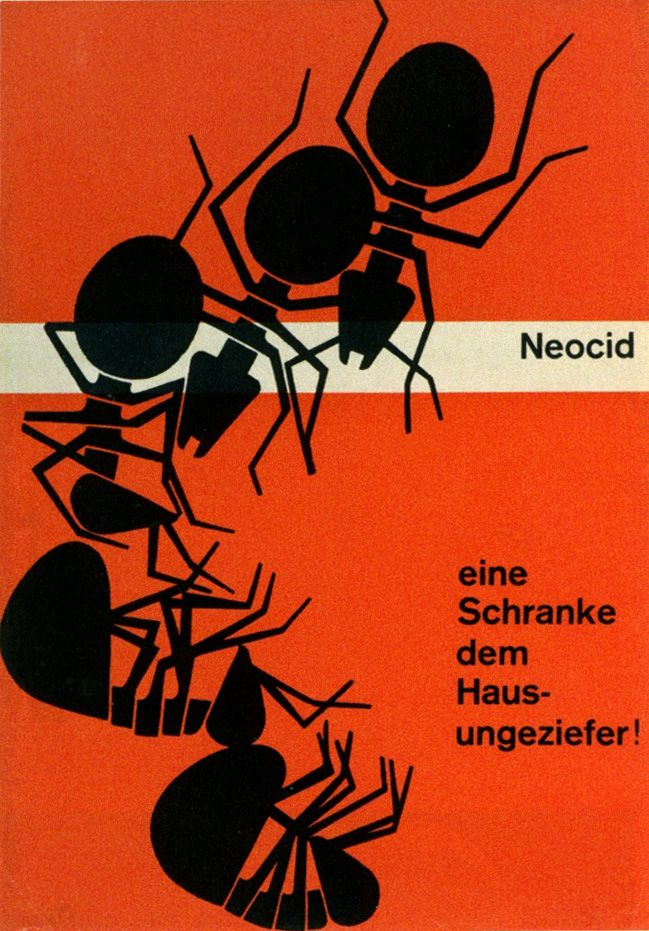 """From """"Corporate Diversity : Swiss Graphic Design and Advertising by Geigy 1940 - 1970"""""""