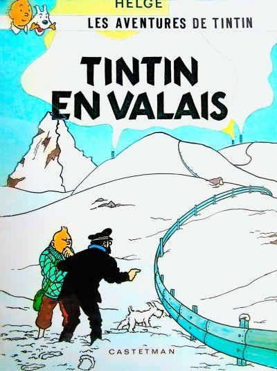 PASTICHE En 1979, l'émission «Tell Quel» de la TV romande lance Tintin sur les traces des magouilles valaisannes.