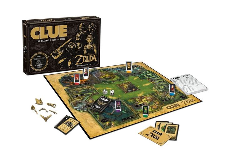 USAopoly the Legend of Zelda Clue Board Game Free Shipping #factorytoy