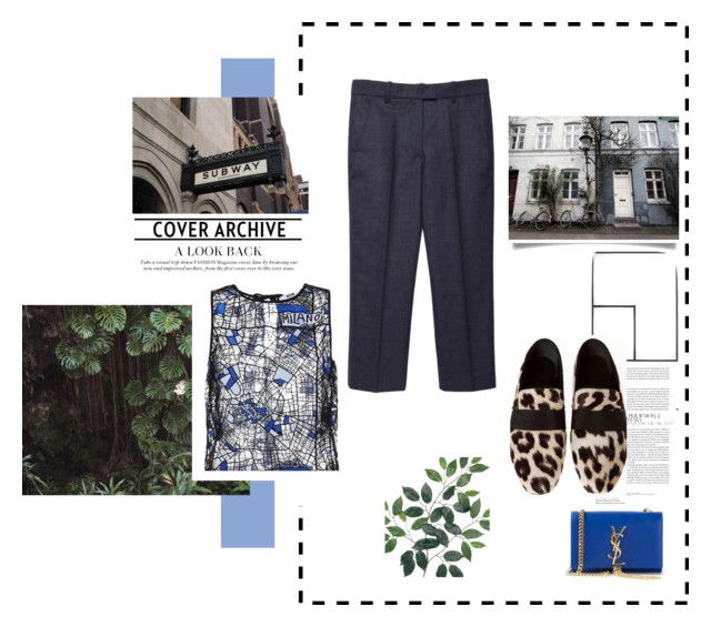Sans titre by kelly-m-o on Polyvore featuring polyvore, fashion, style, MSGM, Isabel Marant, Yves Saint Laurent, AG Adriano Goldschmied, Blue and summeroutfit