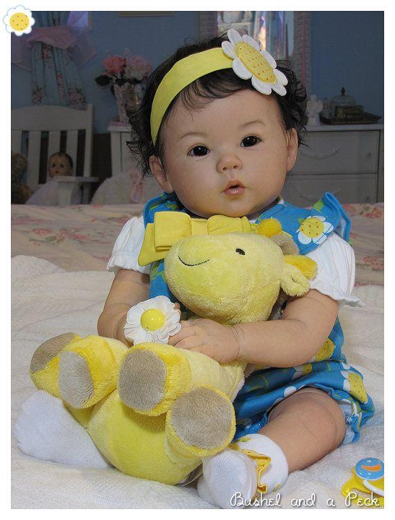 CUSTOM Order for Reborn Kana Baby Doll by by BushelandaPeckReborn