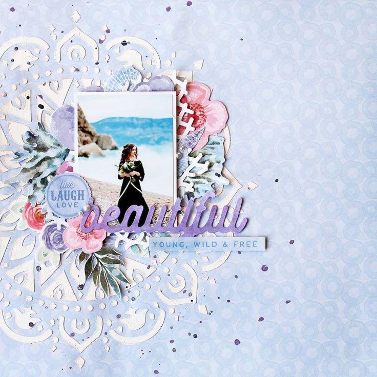 Kaisercraft Mermaid Tails - Julia Akinina