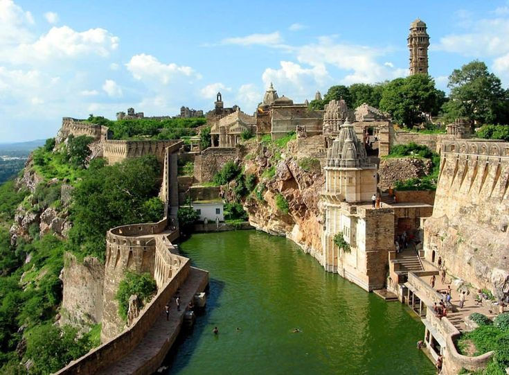 Chittorgarh Fort, India.