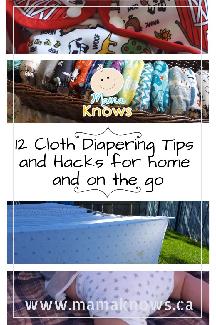 My experience with cloth diapers has taught me a few things! These cloth diaper tips and hacks for home, laundering and on the go may prove useful to you.
