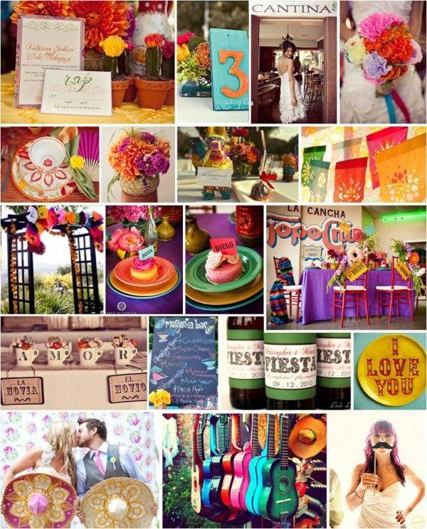 Fiesta, fiesta!   http://intertwinedevents.com/2012/05/themed-thursday-festive-fiesta/