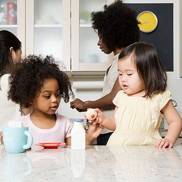 How to prepare your child for preschool. Topics covered include potty training, basic skills and social readiness.