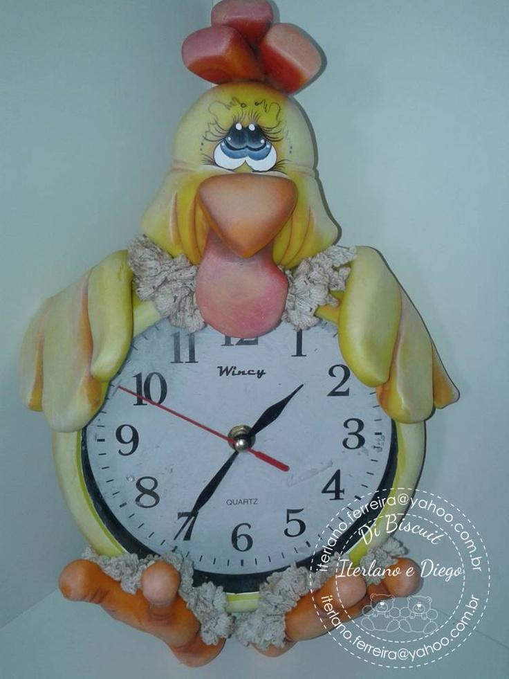 Reloj gallina