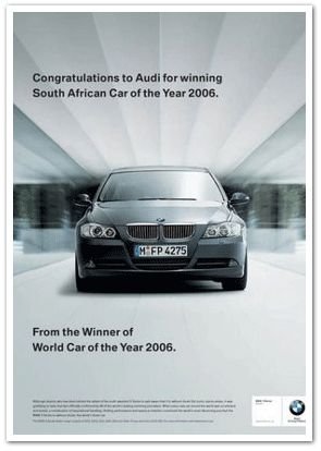 BMW Car of the World Ad
