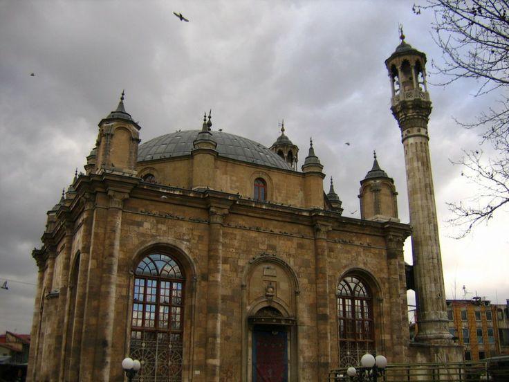 Aziziye Mosque in Konya, Turkey - Aziziye Camii (Mosque) in Konya, Turkey | IslamicArtDB.com
