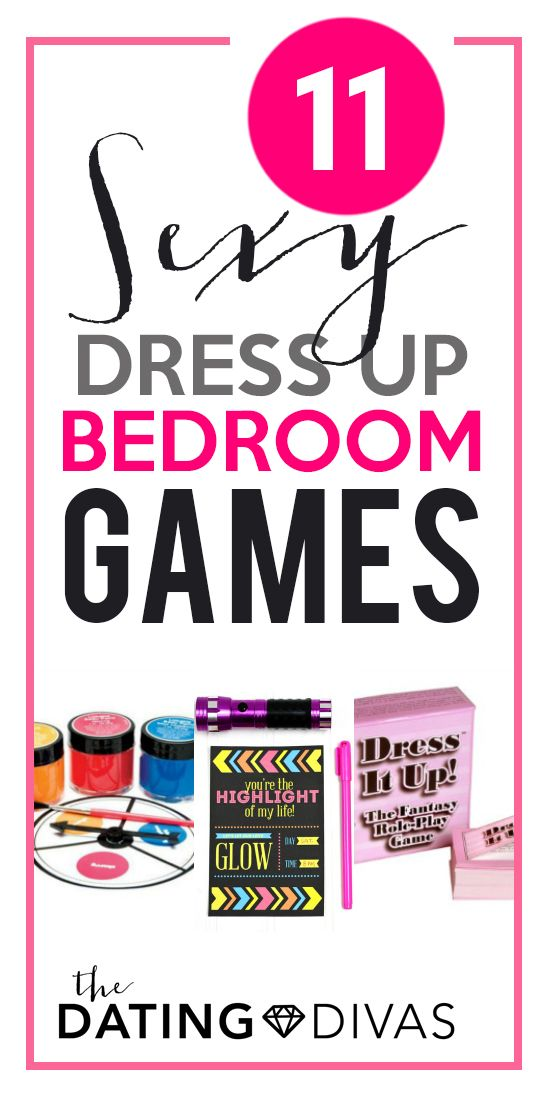 Sexy dress up games in the bedroom!? I'm so excited!!  www.TheDatingDivas.com