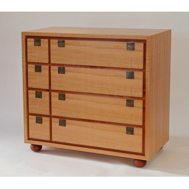 8 Drawer Chest of Drawers by Anton Gerner - bespoke contemporary furniture melbourne
