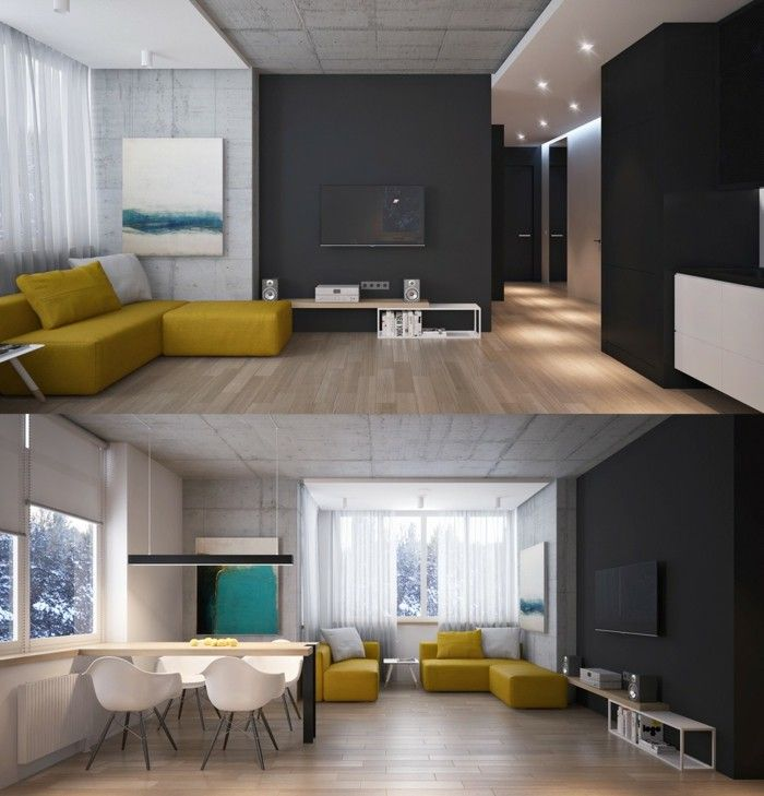 648 best images about wohnzimmer ideen on pinterest | minimalist ... - Hangende Betten 29 Design Ideen Akzent Haus