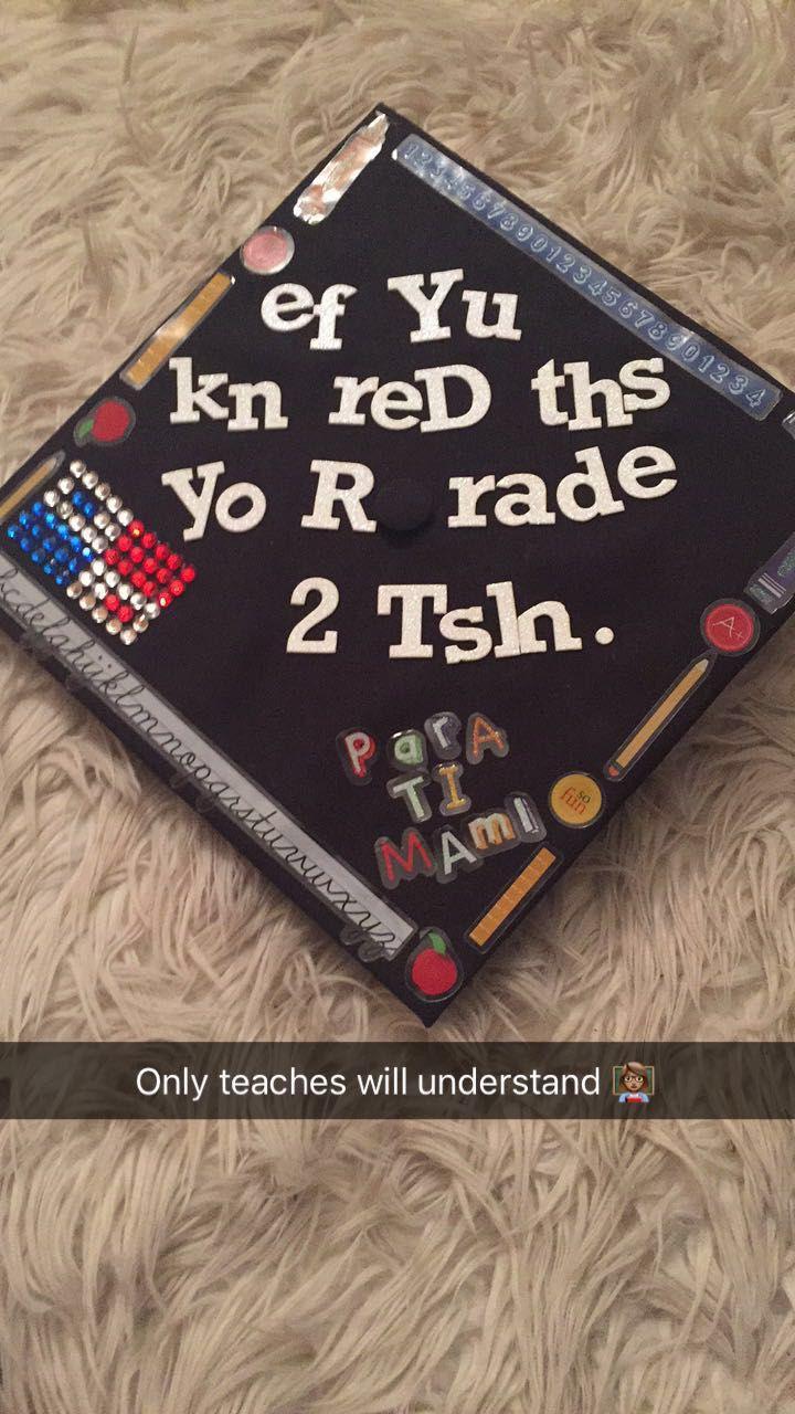 best 25  teacher graduation cap ideas on pinterest