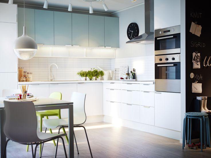 IKEA Österreich, Inspiration, Küche, Front APPLÅD, Tür RUBRIK - ikea küche faktum weiß hochglanz