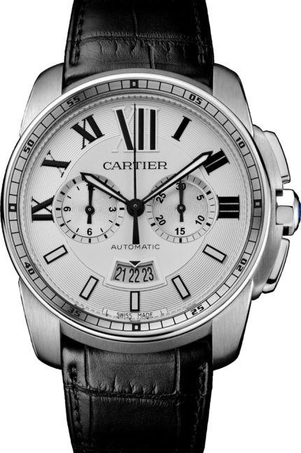 CALIBRE DE CARTIER Mens Automatic Chronograph Luxury Watch W7100046 www.majordor.com.png