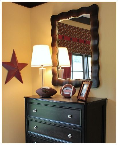 Boy Bedrooms! See some sports themed bedroom ideas