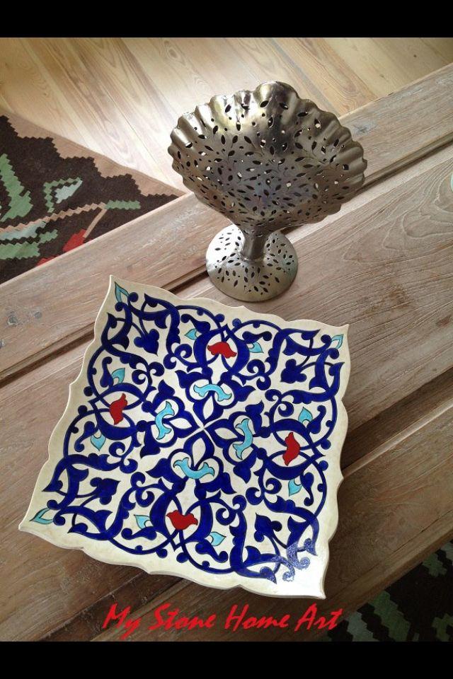 Rumi plate 40cm By özlem koç