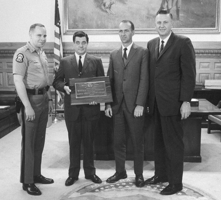 1966 Deputy John Zemites, Governor Docking, Sheriff Fred