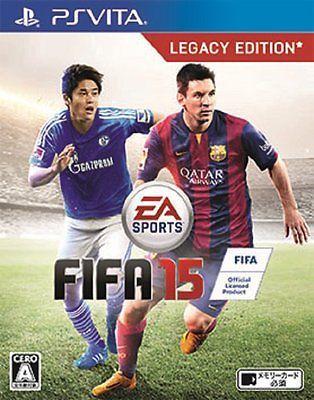 NEW!! PS Vita FIFA 15 from Japan Japanese PlayStation Vita F/S