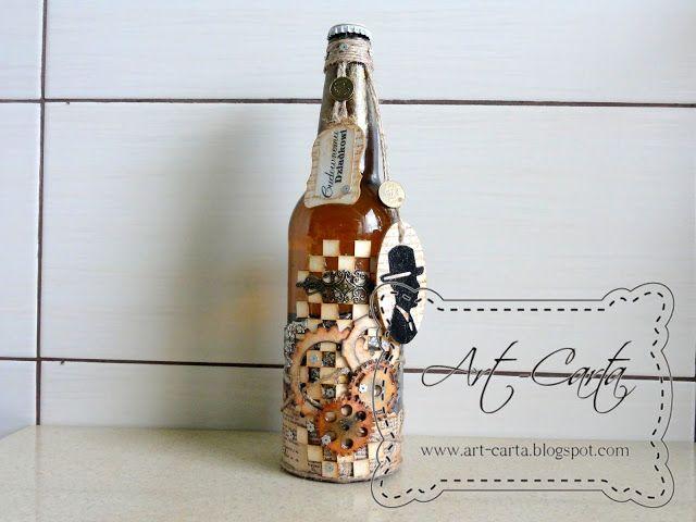 Art-Carta : Flaszka dla Dziadka