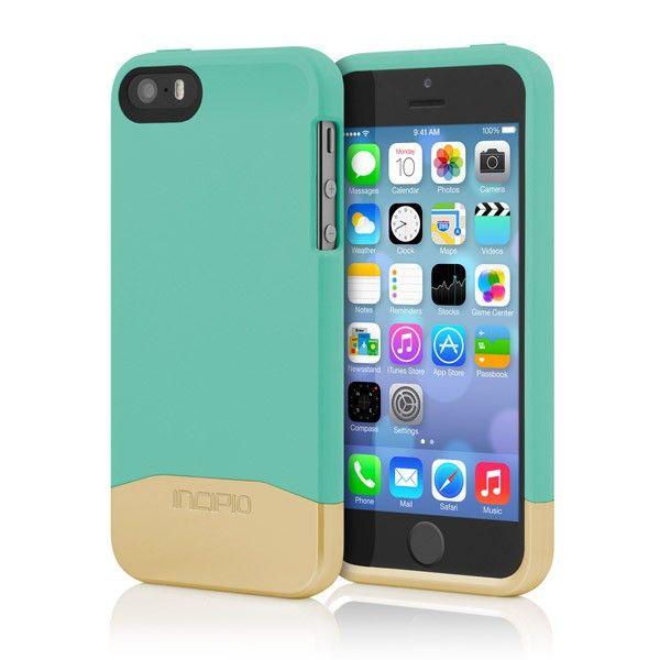 Incipio EDGE® Chrome iPhone 5/5S/SE Case - Teal/Gold Chrome *Sale