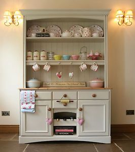 Marks & Spencer Shabby Chic Dresser Farrow & Ball Off White #03 Cottage M&S