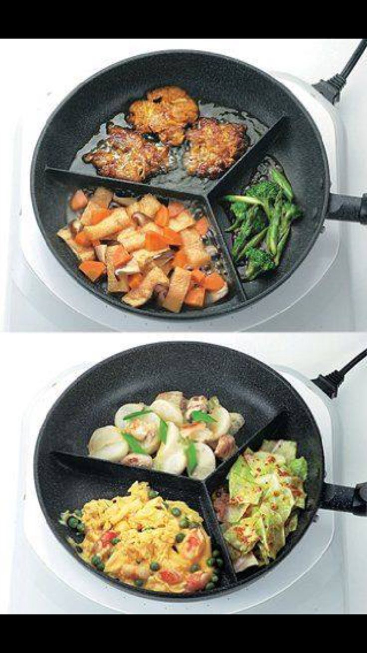 Three sided pan