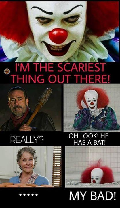 might wanna rethink that... Carol is pretty scary
