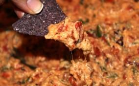 Skinny Chile con Queso Dip | Yummy | Pinterest