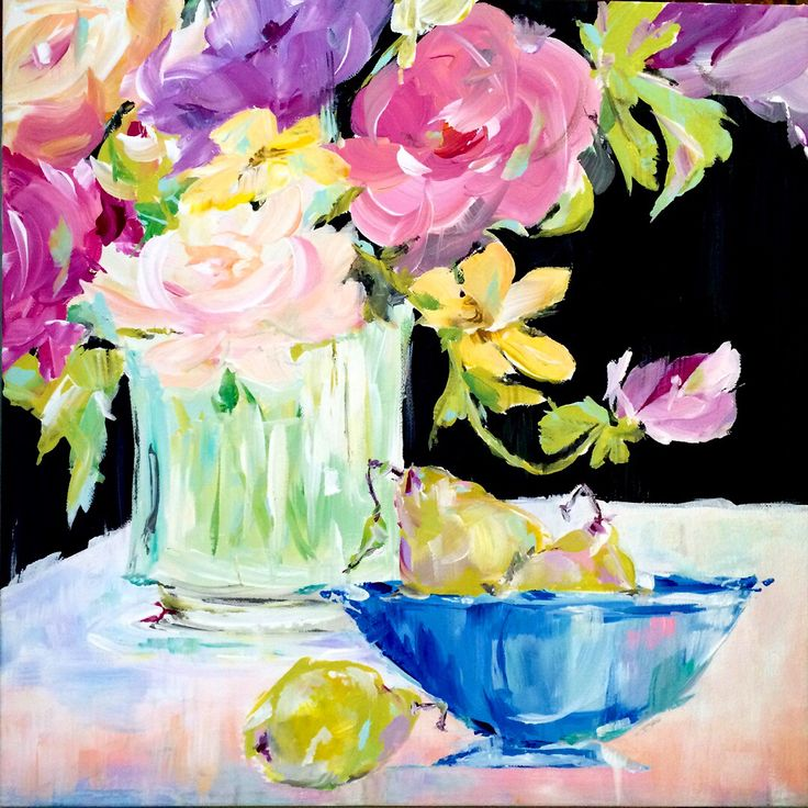 95 best Floral Paintings by Susan Pepe images on Pinterest