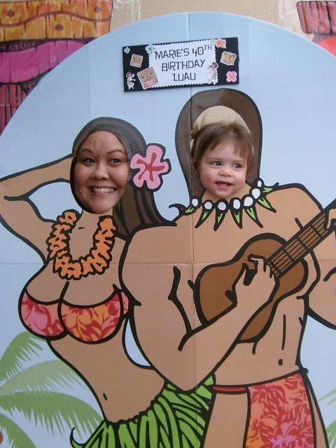 "Photo 1 of 4: Hawaiian Luau / Birthday ""Marie's 40th Birthday"" | Catch My Party"