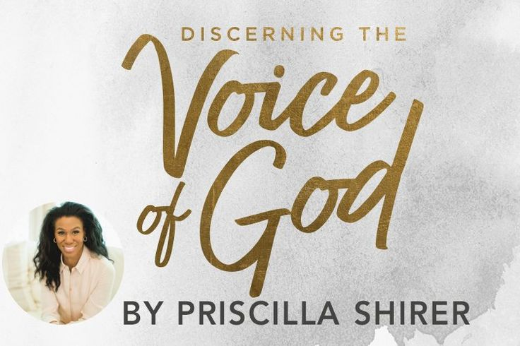 You heard the big news this week, right? Priscilla Shirer's next Bible study, Discerning the Voice of God, is here! In fact, it's already been so popular that we are reprinting the book—in the same week we released it! You can still purchase a copy at your local LifeWay Christian Store, and it will be …