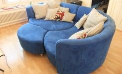 Blue Sectional Sofa For Sale