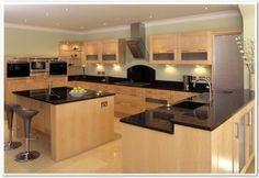 cozinhas planejadas Dell Ano de madeira clara